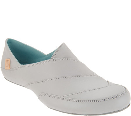 Merrell Leather Slip-on Shoes - Inde Lave