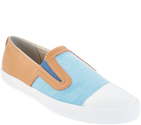 GEOX Canvas Slip On Shoes - Giyo
