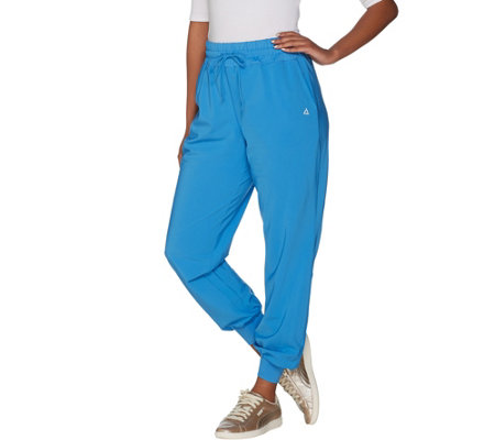 AnyBody Move Petite High Tech Stretch Jogger Pants