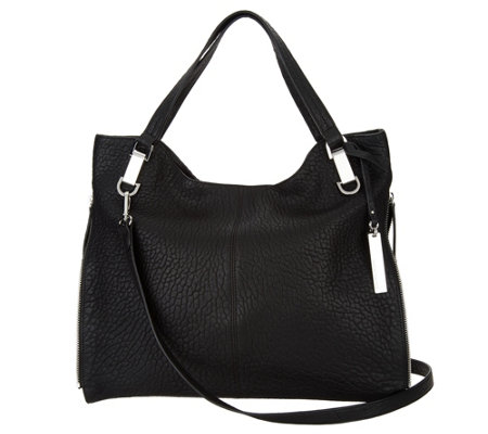 """As Is"" Vince Camuto Leather Tote Handbag - Riley"