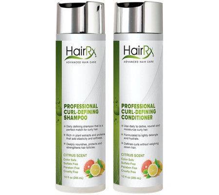 HairRx Professional Curl Defining Duo Luxe Lather - Citrus