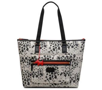 RADLEY London Leopard Oilskin Large Ziptop Tote - A440795