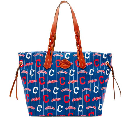 Dooney & Bourke MLB Nylon Indians Shopper