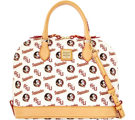Dooney & Bourke NCAA Florida State University Zip Zip Satchel