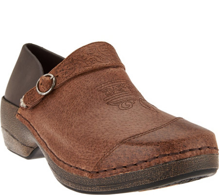 Rocky 4EurSole Leather Convertible Clogs