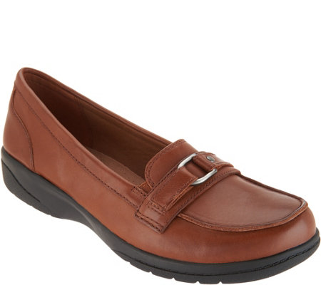 Clarks Leather Loafers- Cheyn Marie