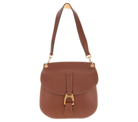Dooney & Bourke Emerson Leather North/South Shoulder Handbag- Reese