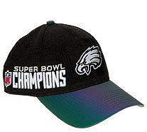 NFL Super Bowl LII Eagles Locker Room Cap by New Era - A310896