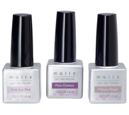 Mally 24 7 City Gel Polish Trio
