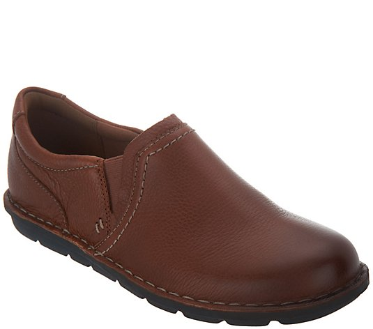 Clarks Collection Leather Slip-On Shoes - Janice Barrie