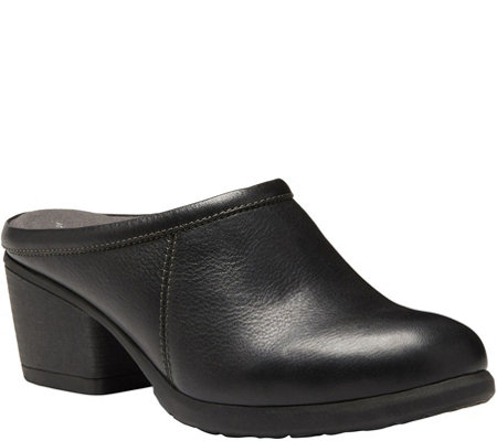 Eastland Open Back Leather Mules - Paige