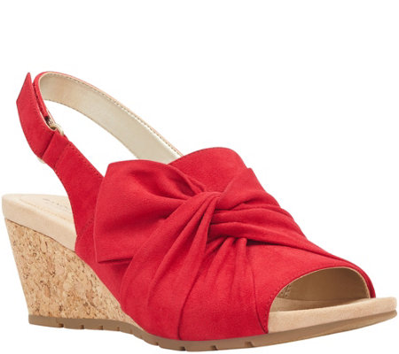 Bandolino Casual Wedge Sandals - Gayla