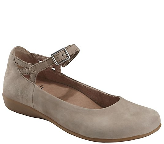 Earth Leather Mary Janes - Alder Alma