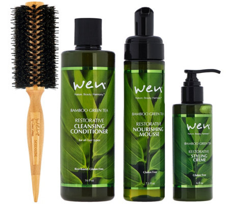 WEN by Chaz Dean Rice Based Cleanse & Style Essentials