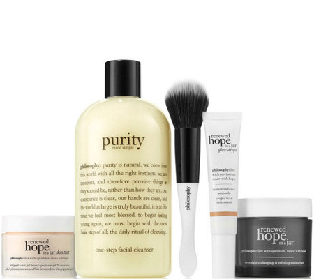 philosophy daily dose of hope 5-piece skincare set