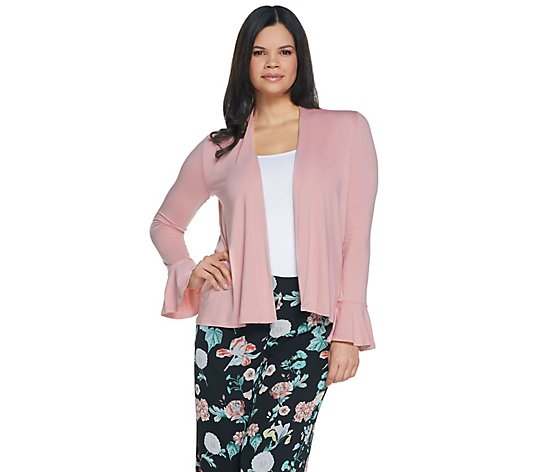 Vince Camuto Bell Sleeve Cut & Sew Cardigan