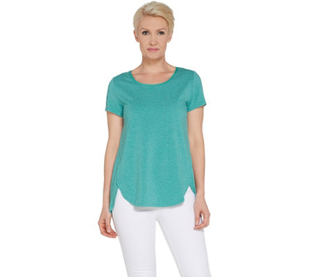 H by Halston Donegal Knit Scoop-Neck Top
