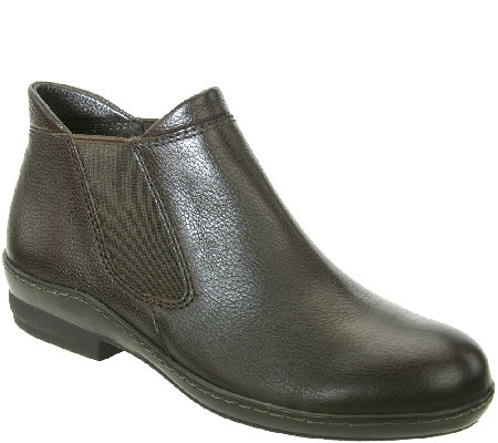 David Tate Leather Chelsea Boots - London