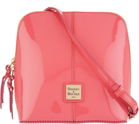 """As Is"" Dooney & Bourke Patent Leather Crossbody- Trixie"