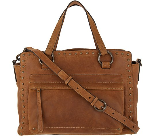 frye & co. Leather Stud Satchel - Victoria