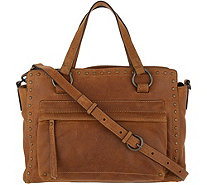frye & co. Leather Stud Satchel - Victoria - A344697