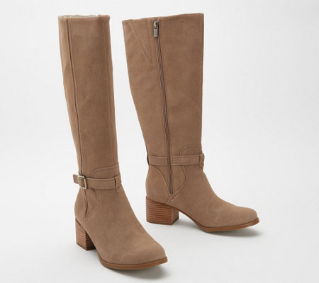 Koolaburra by UGG Suede Tall Shaft Boots - Madeley