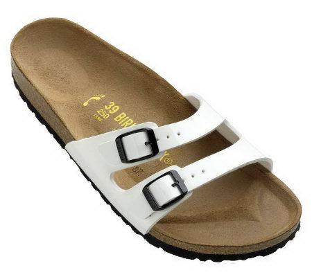 0bd070c9093e Birkenstock Patent Double Strap Adjustable Sandals - Page 1 — QVC.com