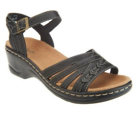 c36bdce72eb Clarks Bendables Lexi Norwich Leather Sandals w  Ankle Strap - Page ...