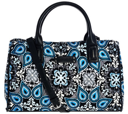 Vera Bradley Signature Print Triple Compartment Satchel