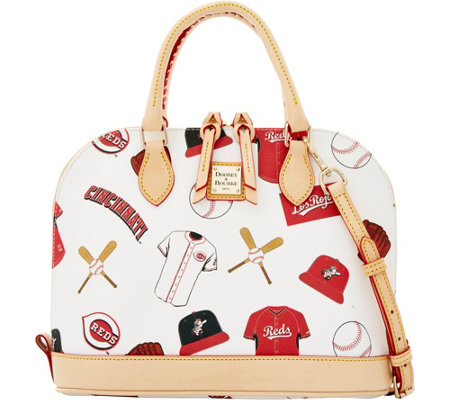 Dooney & Bourke MLB Reds Zip Zip Satchel