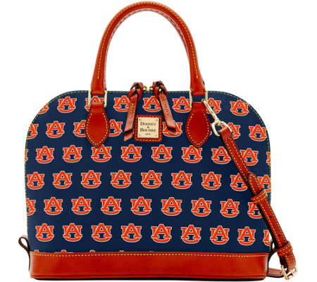 Dooney & Bourke NCAA Auburn University Zip Zip Satchel