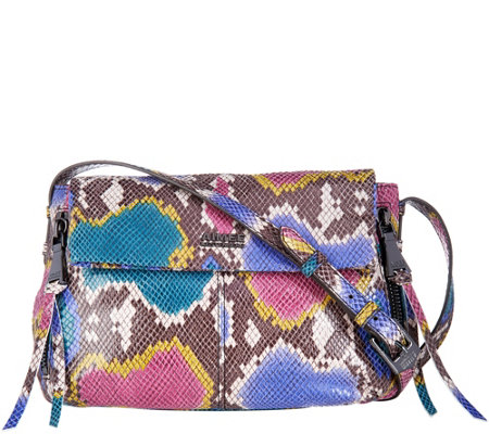 Aimee Kestenberg Pebble Leather Crossbody- Bali