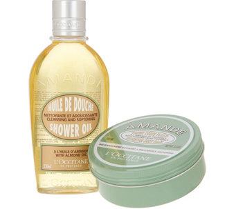 LOccitane Almond Shower Oil Balm Duo
