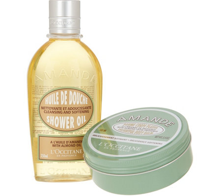L'Occitane Almond Shower Oil & Balm Duo