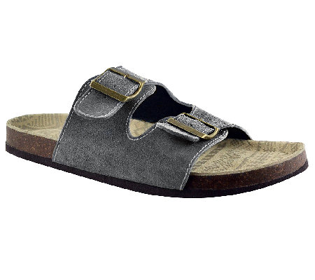 MUK LUKS Men's Parker Duo Strapped Sandals