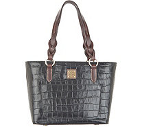 Dooney & Bourke Croco Embossed Leather Tammy Tote - A342298