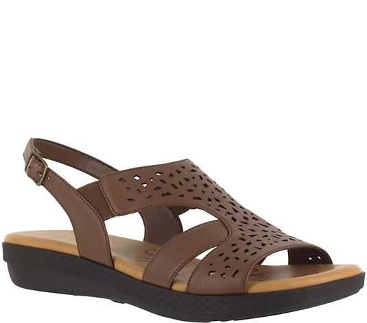 Easy Street Wedge Sandals - Bolt
