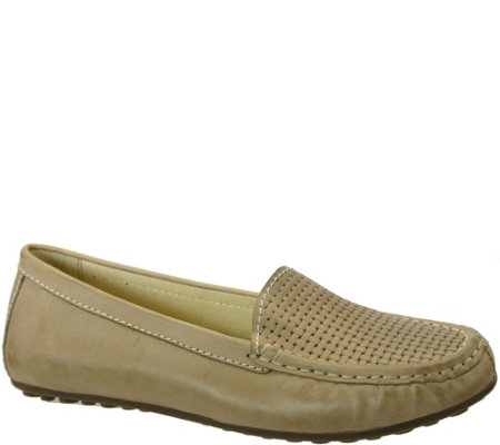 David Tate Leather Moccasins - Lana