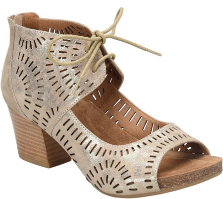 Sofft Leather Ghillie Sandals - Modesto