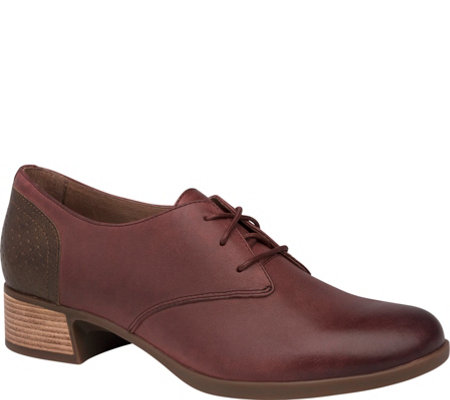 Dansko lace Up Leather Oxfords - Louise