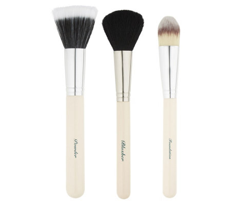 The Vintage Cosmetic Company Essential Face Brush Set