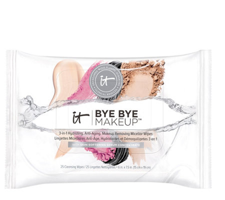 IT Cosmetics Bye Bye Makeup Melting Wipes