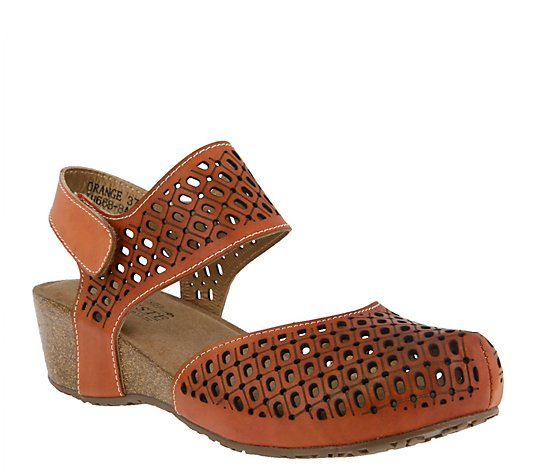 L'Artiste by Spring Step Leather Sandals - Poppiri