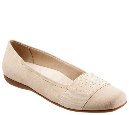 Trotters Sparkle Ballet Flats Samantha