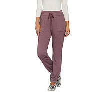 LOGO Lounge by Lori Goldstein Brushed French Terry Pants - A282999