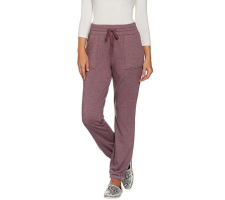 LOGO Lounge by Lori Goldstein Brushed French Terry Pants