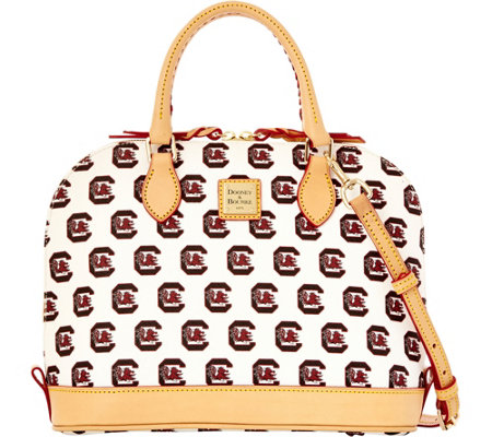 Dooney & Bourke NCAA University of South Carolina Zip Zip Satchel