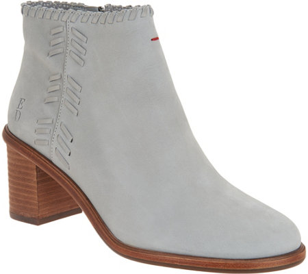 ED Ellen DeGeneres Leather Ankle Boots - Susumu