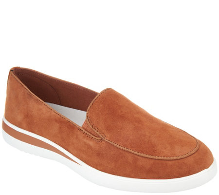 ED Ellen DeGeneres Suede Slip-On Shoes - Antona