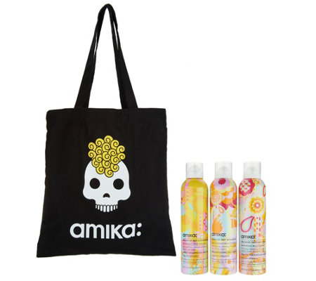 amika 2nd Day Slay 3 Piece Dry Shampoo, Dry Conditioner & Texture Spray